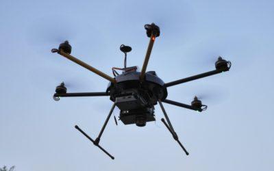 Приложения на дроните при пожари