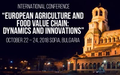 "Pro Drone Sys участва на международната конференция ""EUROPEAN AGRICULTURE AND: FOOD VALUE CHAIN DYNAMICS AND INNOVATIONS"""